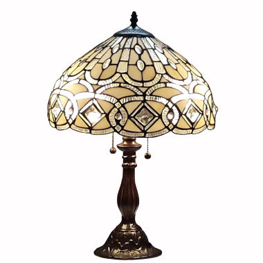 jcpenney.com | Amora Lighting™ Tiffany Style Geometric Table Lamp