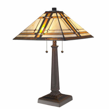 jcpenney.com | Amora Lighting™ Tiffany Style Mission Table Lamp