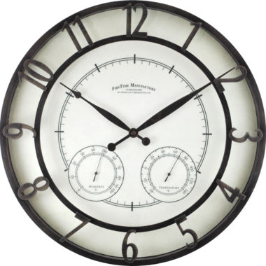 jcpenney.com | FirsTime® Park Indoor/Outdoor Wall Clock