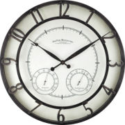 FirsTime® Park Indoor/Outdoor Wall Clock