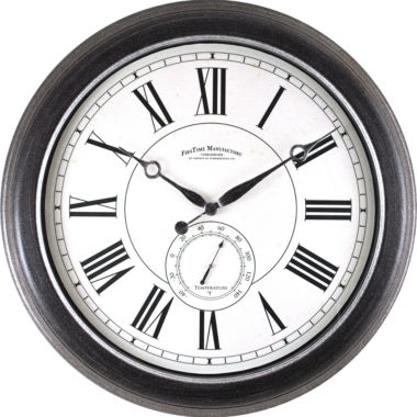 jcpenney.com | FirsTime® Summit Indoor/Outdoor Wall Clock