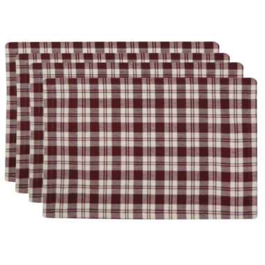 jcpenney.com | Metro Farmhouse By Park B. Smith® Set of 4 Plaid Placemats