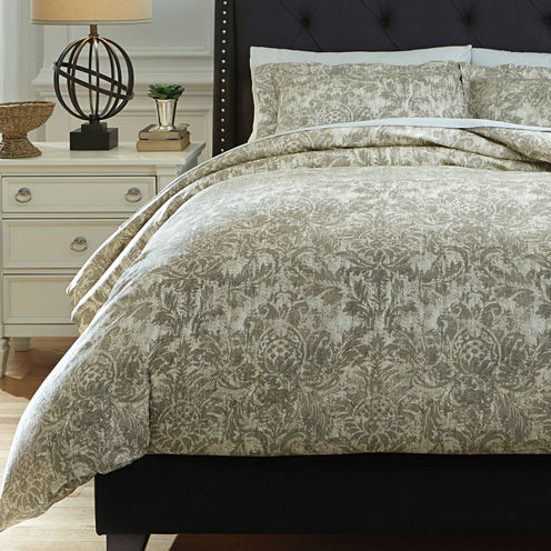 Signature Design by Ashley® Kelby 3-pc. Duvet Cover Set