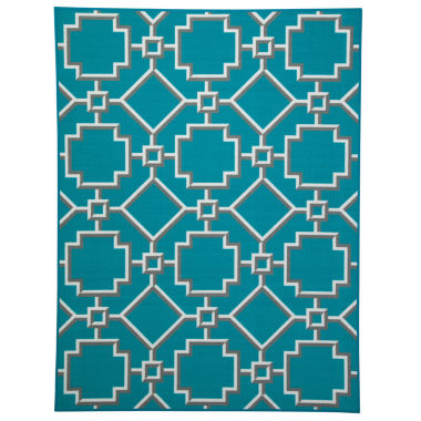 jcpenney.com | Signature Design by Ashley® Zarek Rectangular Rug - Turquoise