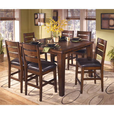 jcpenney.com | Signature Design by Ashley® Larchmont Counter-Height Dining Table with Leaf
