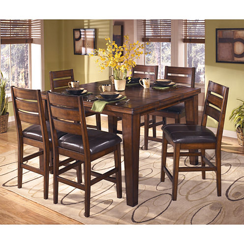 Signature Design by Ashley® Larchmont Counter-Height Dining Table ...