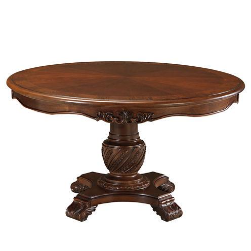 Signature Design by Ashley® North Shore Pedestal Table