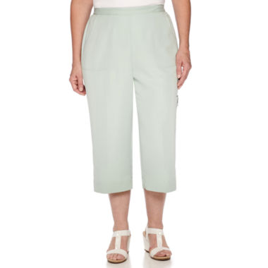 jcpenney.com | Alfred Dunner® Savannah Pull-On Capris
