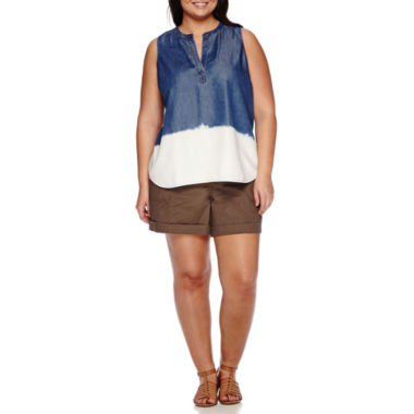 jcpenney.com | a.n.a® Back Placket Detail Tank Top or Cargo Shorts