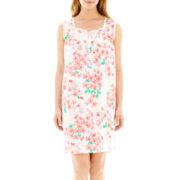 Jasmine Rose Dot Woven Nightgown
