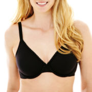 Ambrielle® Cotton-Blend Full-Figure Bra