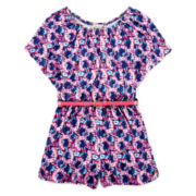 Speechless® Floral Romper - Girls 7-16