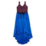 Total Girl® Tribal-Print Maxi Dress - Girls 7-16 and Plus