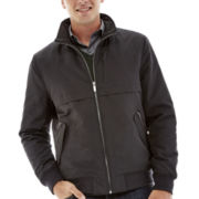 Claiborne® Water-Resistant Bomber Jacket