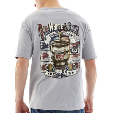 jcpenney.com | No Bad Days® Red, White & Brew Graphic Tee