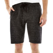 Hollywood Speckled Knit Fleece Shorts
