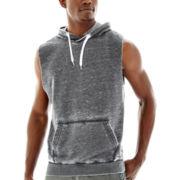 UNIONBAY® Fleece Cut-Off Hoodie