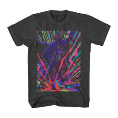 jcpenney.com | Star Wars™ Neon Darth Vader Graphic Tee