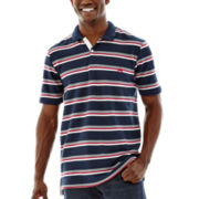 Ecko Unltd.® Striped Piqué Polo