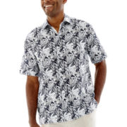 The Havanera Co.® Short-Sleeve Woven Shirt