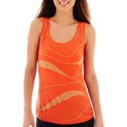 Worthington® Embellished Tank Top - Petite