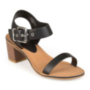 Journee Collection Ankle-Strap Sandals