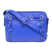 Great American Leatherworks® Leather Grommet Crossbody Bag