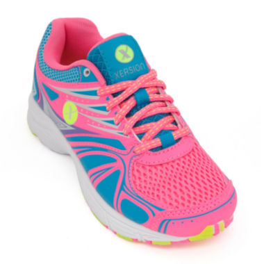 jcpenney.com | Xersion™ Pixel Knockout Girls Running Shoes - Little Kids