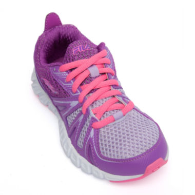 jcpenney.com | Fila® Poseidon Girls Running Shoes - Little Kids/Big Kids