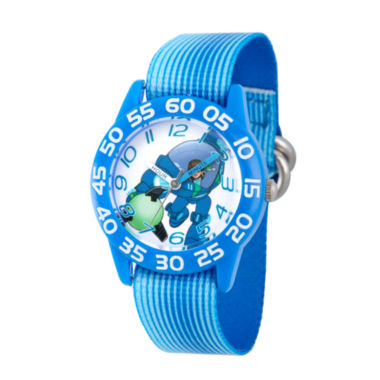 jcpenney.com | Disney Boys Blue Miles From Tomorrowland Time Teacher Strap Watch W003049