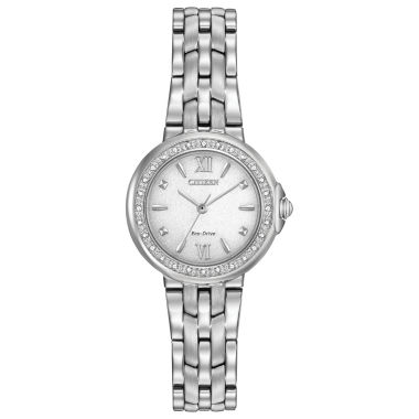 jcpenney.com | Citizen® Eco-Drive Ladies' Stainless Steel Diamond Watch Em0440-57A