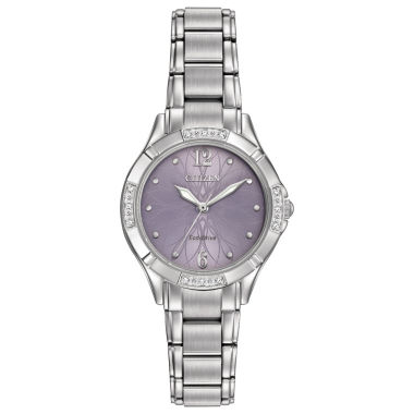 jcpenney.com | Citizen® Eco-Drive Womens Stainless Steel Diamond Watch Em0450-53X