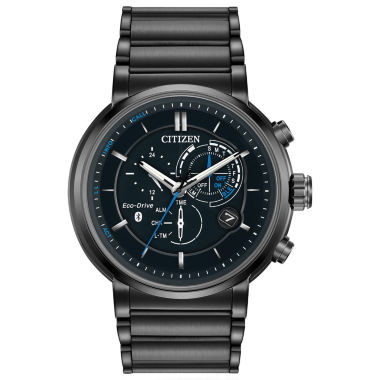 jcpenney.com | Citizen® Eco-Drive Mens Black Ion Plated Proximity Watch Bz1005-51E