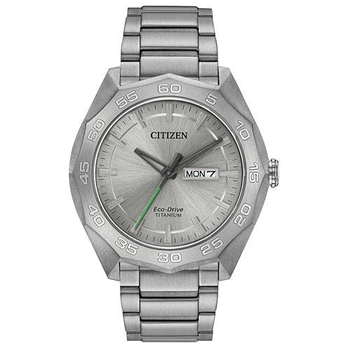 Citizen® Eco-Drive Mens Super Titanium Watch Aw0060-54A