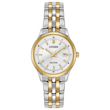 jcpenney.com | Citizen® Eco-Drive Ladies' Two Tone Watch Ew2404-57A