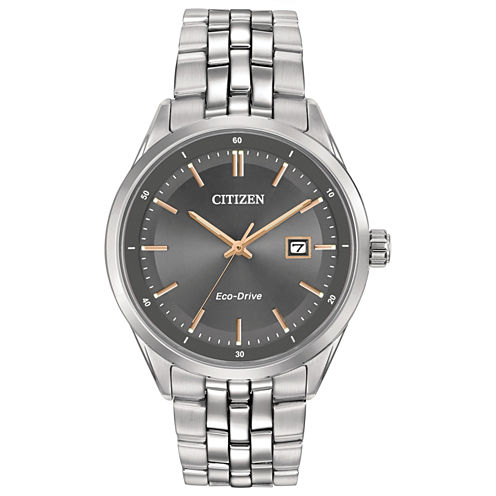 Citizen® Eco-Drive Men's Stainless Steel Watch Bm7251-53H
