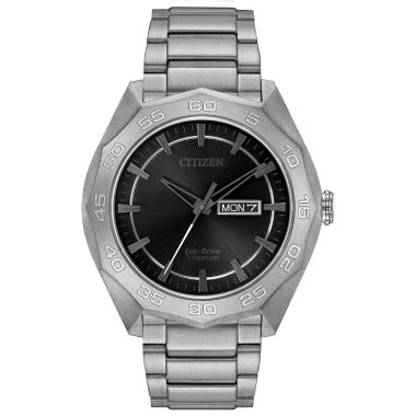 jcpenney.com | Citizen® Eco-Drive Men's Titanium Watch AW0060-54H