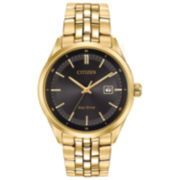 Citizen® Eco-Drive Men's Gold Tone Watch With Date Bm7252-51E
