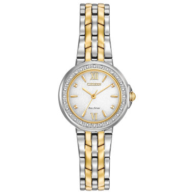 jcpenney.com | Citizen® Eco-Drive Ladies' Two Tone Watch With Diamond Accents Em0444-56A