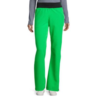 44aea0dc4b9 Wonderwink® Four-Stretch 5514 Womens Fold-Over Waist Pants -Petite & Petite