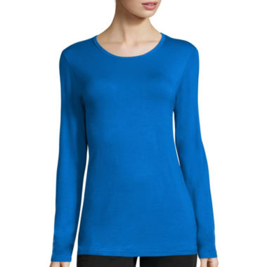 jcpenney.com | Wonderwink® Long-Sleeve Layers Tee