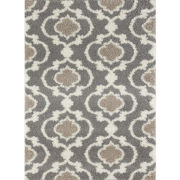 World Rug Gallery Florida Ogee Shag Rectangle Rug