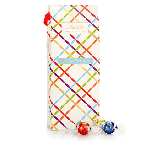 Lindt & Sprungli Happy Birthday Gift Box - 21.2 oz.