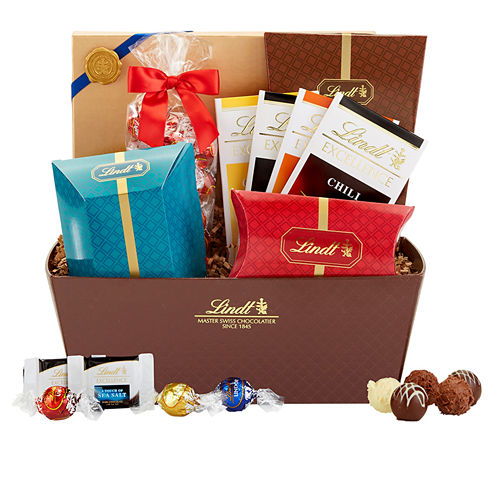 Lindt & Sprungli Lindt Celebration Chocolate Gift Basket - 48.8 oz.