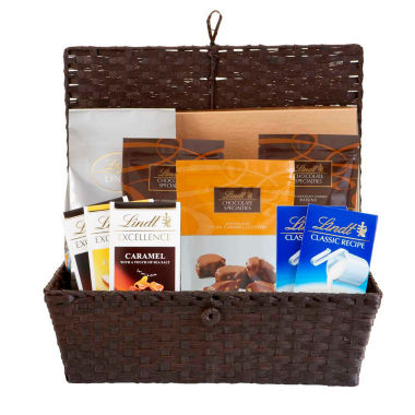 jcpenney.com | Lindt & Sprungli Lindt Chocolate Deluxe Gift Hamper - 75.1 oz.