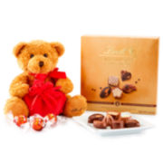 Lindt & Sprungli Lindt Bear & Swiss Luxury Selection