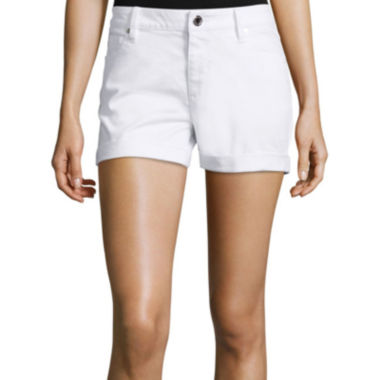 jcpenney.com | a.n.a® Denim Roll Cuff Shorts