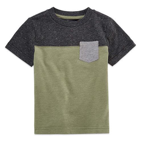 Arizona Short Sleeve Crew Neck T-Shirt-Toddler Boys