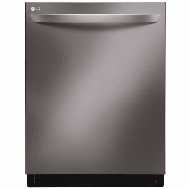 jcpenney.com | LG ENERGY STAR® Top Control Dishwasher with QuadWash™, Stainless Interior and Third Rack