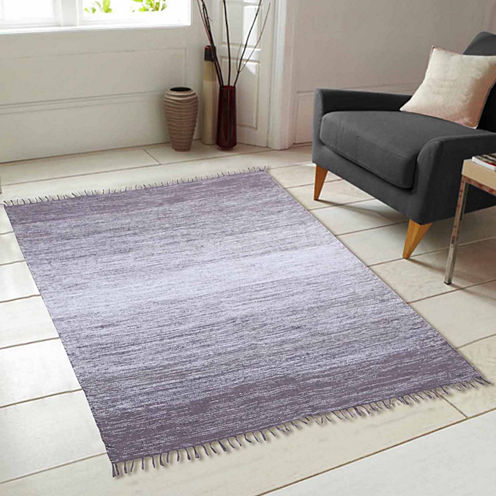 Cotton Ombre Rectangular Rugs